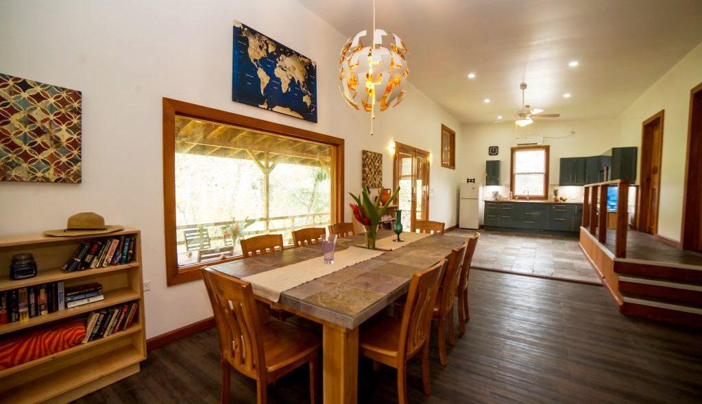 long term rental apartment dining area panama