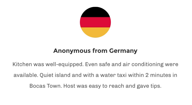 Testimonial Germany