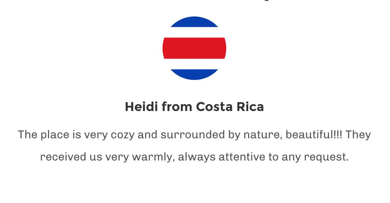 Testimonial Costa Rica