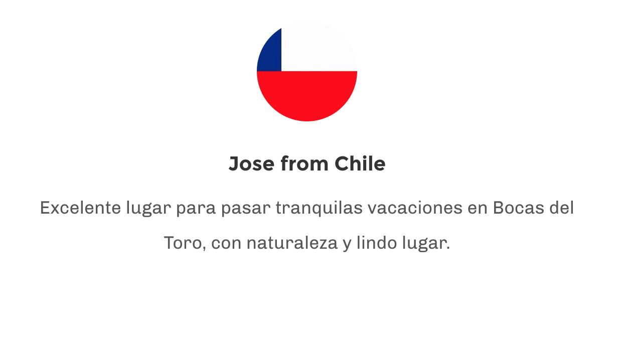 Testimonial Jose